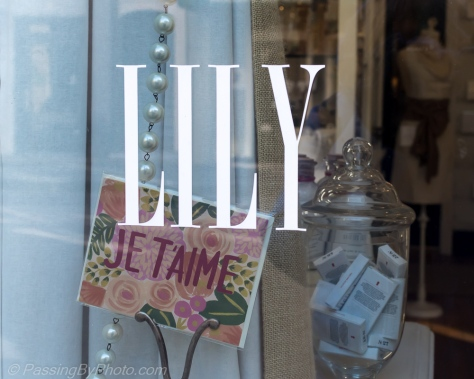Photo Challenge: Names, Store Window