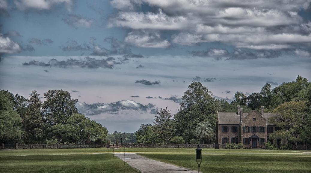 Clouds Over Middleton Plantation