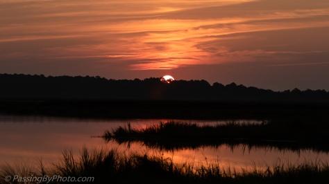Sunrise Over Marsh