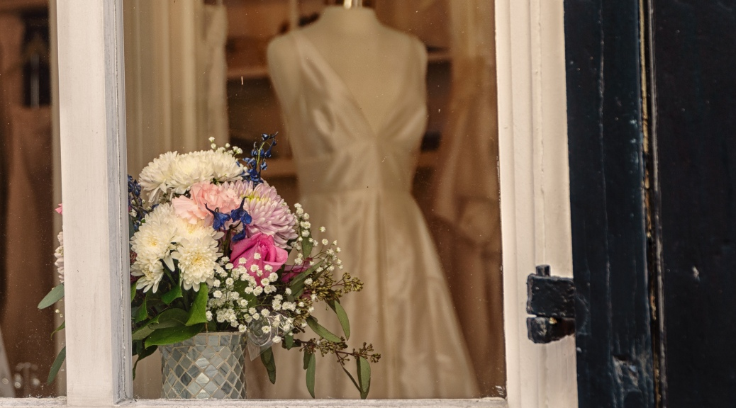 Bridal Gown Window