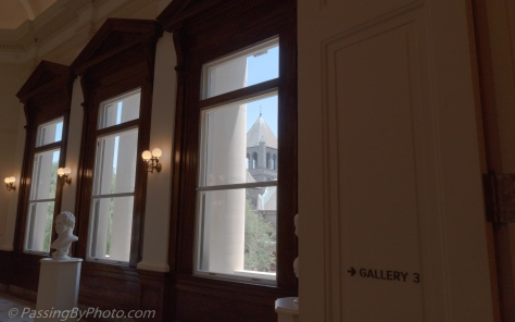 View Out Second Floor, The Gibbes Museum of Art