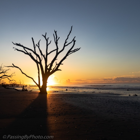 Sunrise at Botany Bay Beach