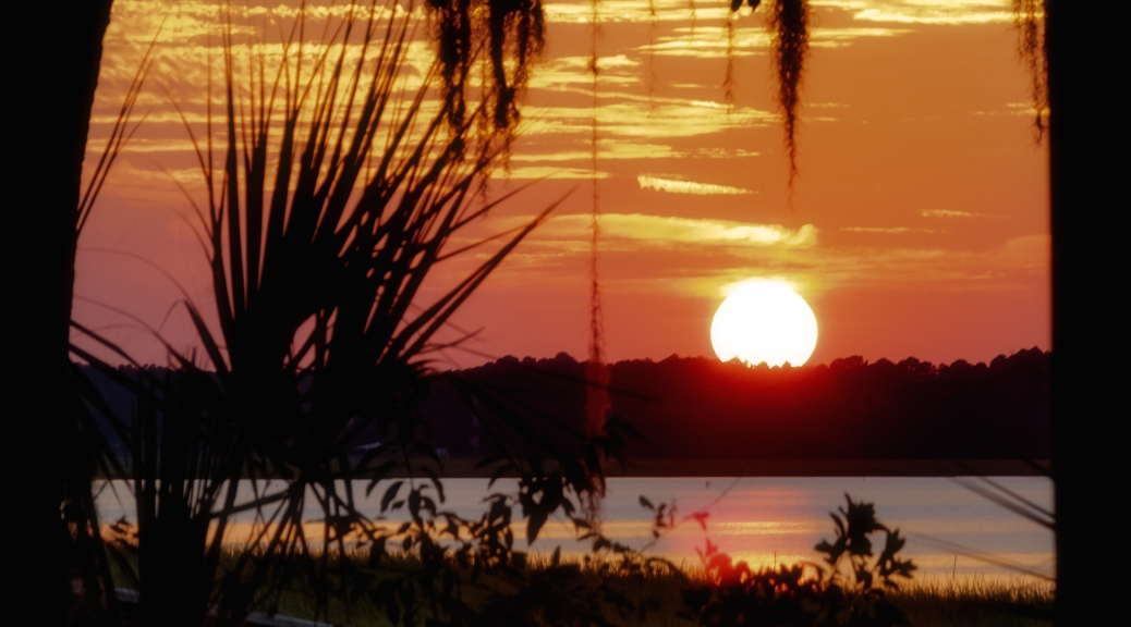 Sunset Over Brickyard Creek, Beaufort