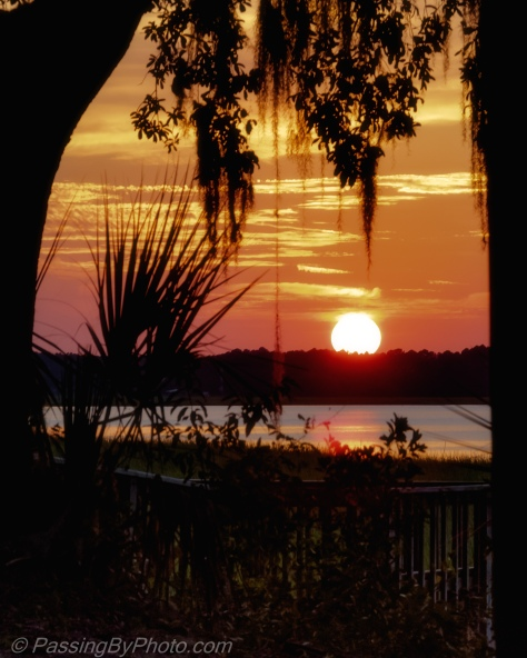 Sunset Over Brickyard Creek, Beaufort