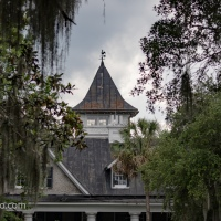 Magnolia Plantation Cupola, River Side