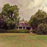 Magnolia Plantation House, River Side