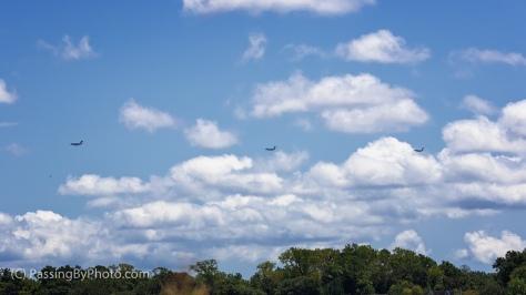 C-17s Circling