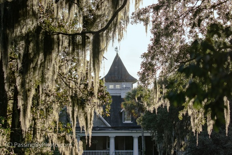 Magnolia Plantation House, River Side