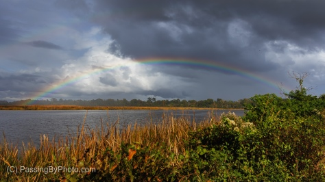 Double Rainbow Over Ashley River